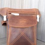 Leder Hüfttasche Schultertasche Umhängetasche